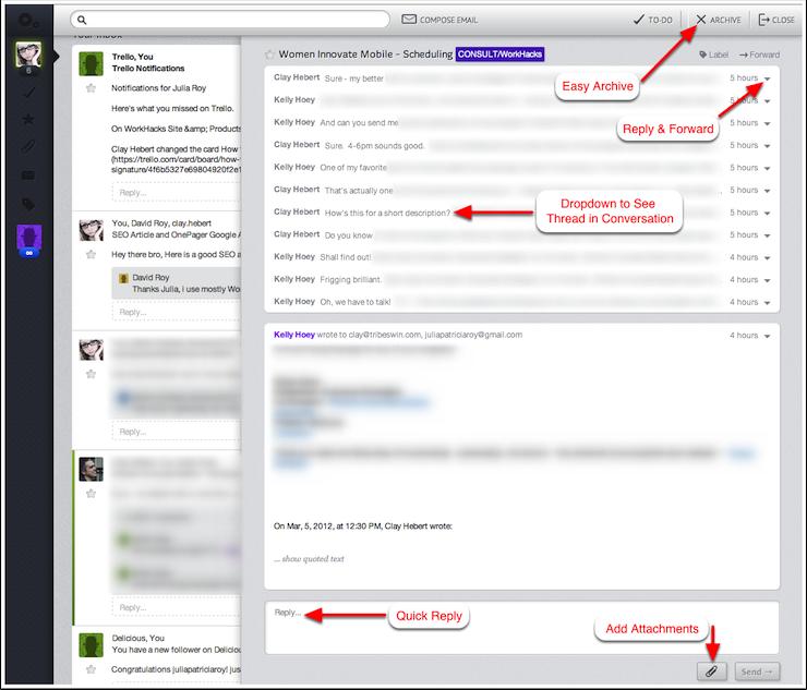 Fluent Gmail Web App