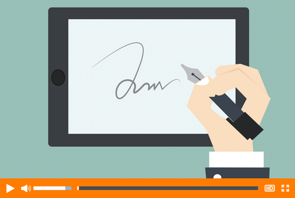 How to Quickly Create a Digital Signature