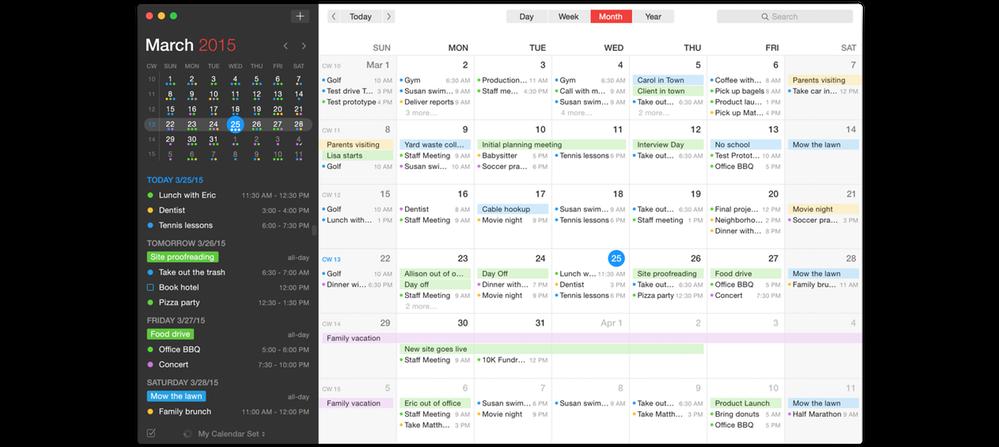Calendar Design Mac : Mac calendar app to replace the beloved sunrise